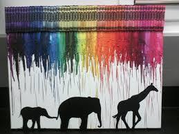 Para la habitación de los niños.  Llueve colores en la selva.